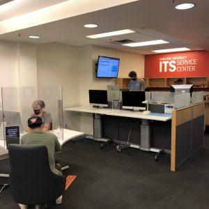 ITS Service Center interior